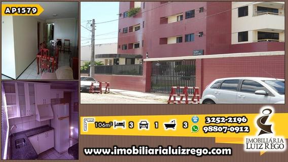 Ap1579-aluga Apartamento 3 Quartos(2 Suítes), 2 Vagas,106m2