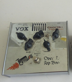 Pedal Overdrive Vox - Over The Top Boost