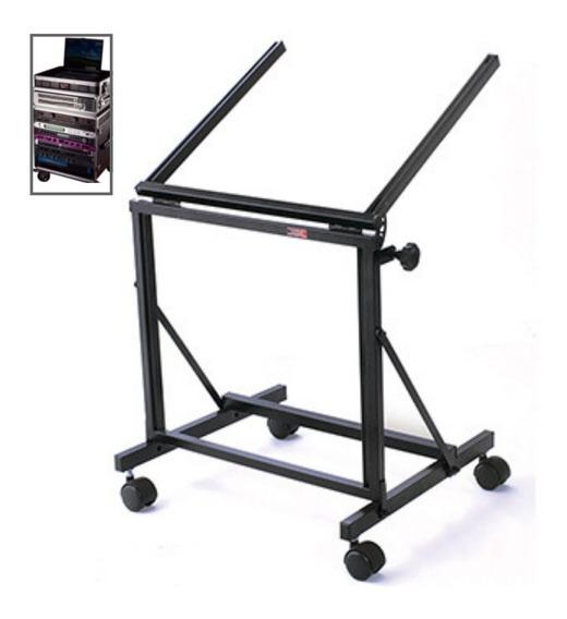 Rack Ibox R40 Estúdio Desmontavel Potência Mesa 19 + Nfe