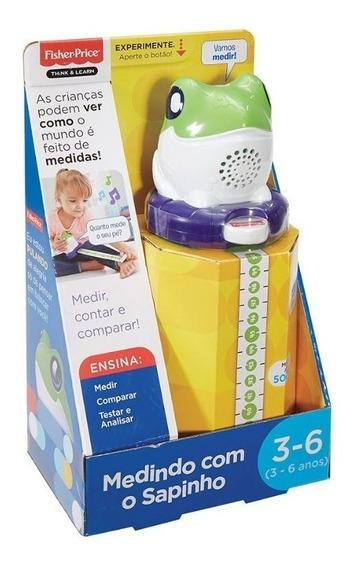 Fisher Price Medindo Com O Sapinho Fgl35 - Mattel