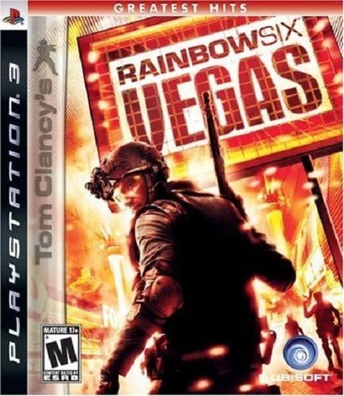 Jogo Rainbow Six Vegas Ps3 M. Fisica