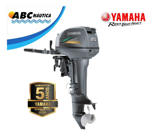 Motor De Popa Yamaha 15hp 2t
