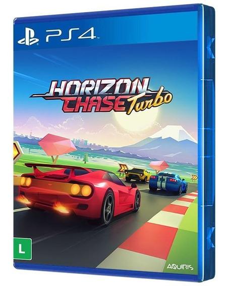 Horizon Chase Turbo - Ps4 - ( Mídia Física, Original E Lacrada )