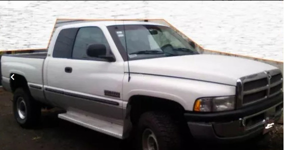 Dodge Ram2500 Turbodiesel 1998 4x4 Manual Extra Cap Hermoso