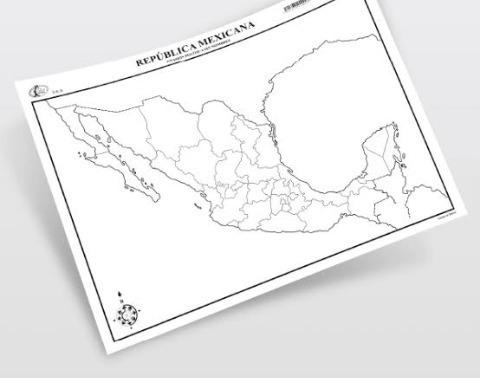 Mapas Tamaño Carta En Mercado Libre México
