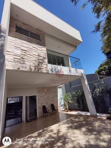 Imagem 1 de 25 de Casa À Venda, 240 M² Por R$ 700.000,00 - Jardim Internorte - Maringá/pr - Ca0156