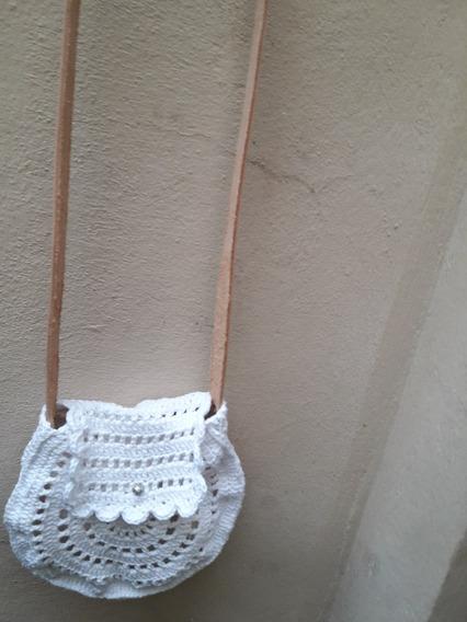 Cartera - Bandolera Al Crochet