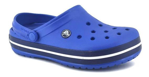 Sandalia Crocs Crocband Unisex Sea Blue/navy
