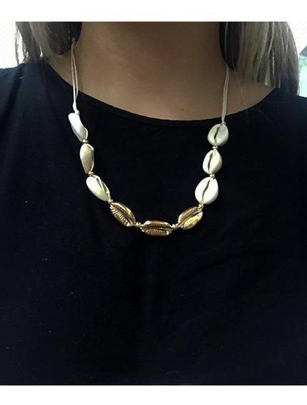 Collar Caracoles Combinado D1800