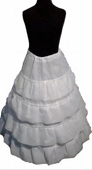 Miriñaque De Friselina Blanca Para Niña