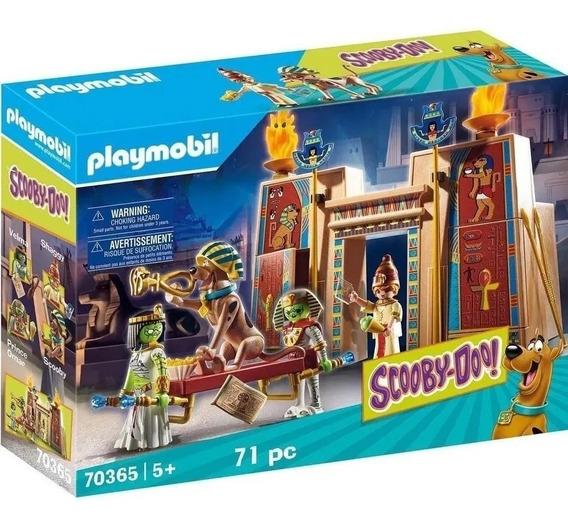 Playmobil Scooby Doo! Aventura Com Monstros No Egito Sunny