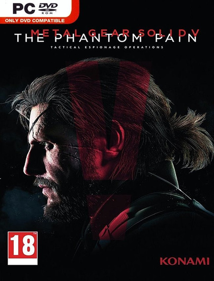 Metal Gear Solid V Phantom Pain Pc Steam Key (envio Rápido)