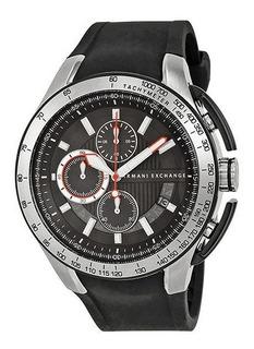 Reloj Armani Exchange Chronograph Silicone Rubber Ax140