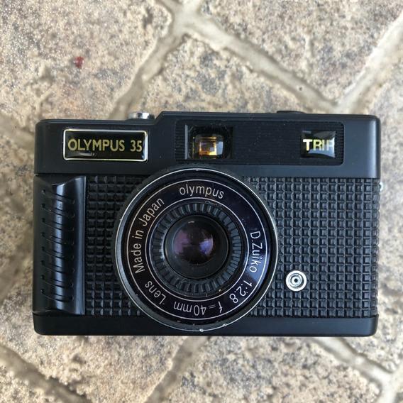 Câmera Olympus Trip 35 Na Caixa