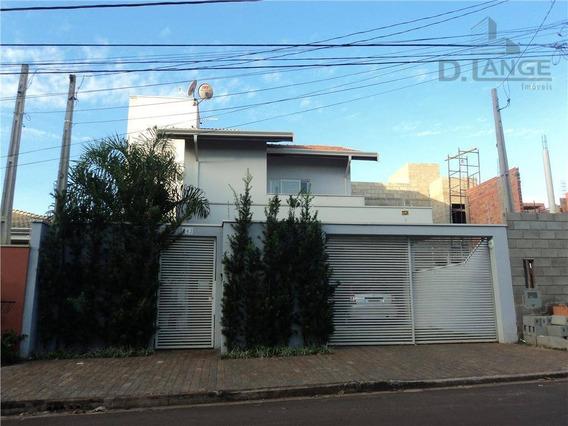Casa Com 3 Dormitórios À Venda, 150 M² Por R$ 620.000 - Residencial Terras Do Barão - Campinas/sp - Ca8188