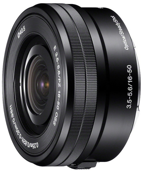 Lente Sony E Pz 16-50mm F/3.5-5.6 Oss P/ A6500 A6300 A6000..