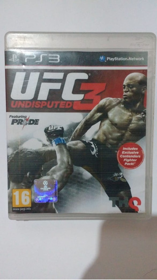 Ufc Undisputed 3 - Mídia Física - Ps3