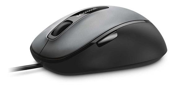 Microsoft Mouse Com Fio Comfort Usb Preto/cinza 4fd00025