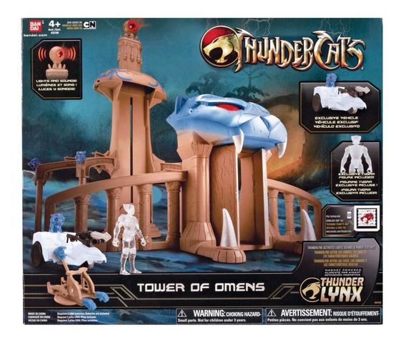 Tower Of Omens Com Tygra De 10cm Thundercats Bandai #33102