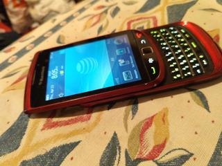 Blackberry 9800 Liberada. Rojo. Usada. $1200.
