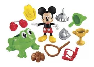 Mickey Mouse Muñeco Mickey Combinaciones Divertidas. Mattel