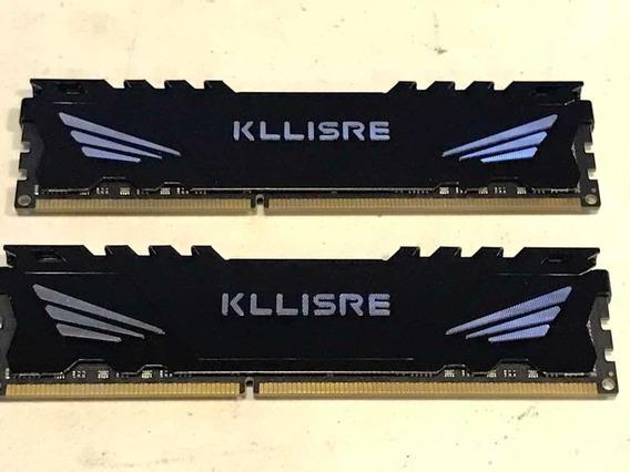 Kit Memoria Kllisre Ddr3 1600mhz 2x4gb 8gb Cl11