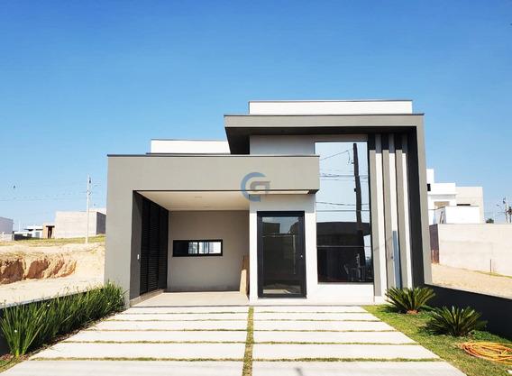 Casa Em Cond À Venda, Cond Residenc Mantova - Indaiatuba/sp