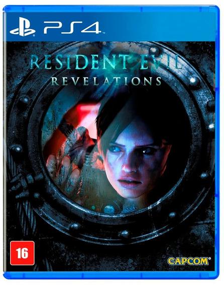 Resident Evil Revelations Ps4 Mídia Física Novo Lacrado