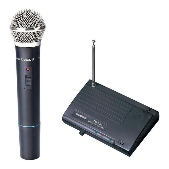 Microfone Sem Fio Takstar Ts331 Vhf