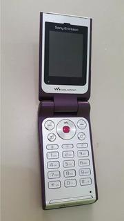 Celular Sony Ericsson W 380 Para Reparo Os 19050