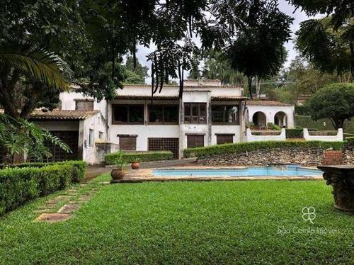 Casa Com 4 Dormitórios À Venda, 800 M² Por R$ 1.500.000 - Chácara Do Refúgio - Granja Viana - Cotia/sp - Ca1610