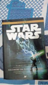 Livro Star Wars 2 -ascenção Da Força Sombria-+brinde Surpres