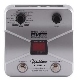 Waldman Bv-1fx Bass Voice Pedaleira Baixo