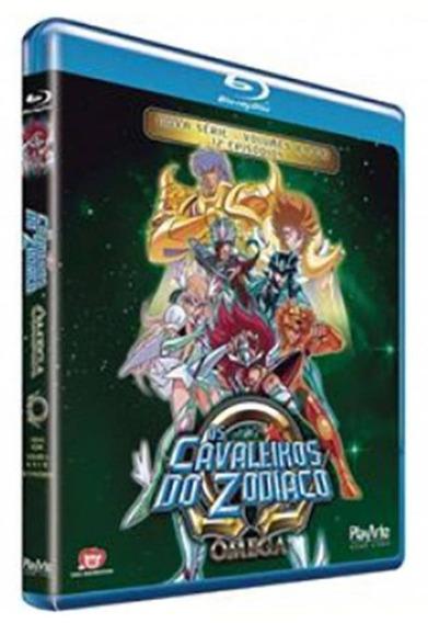 Os Cavaleiros Do Zodíaco - Ômega - Vol.3 - Blu-ray - Novo