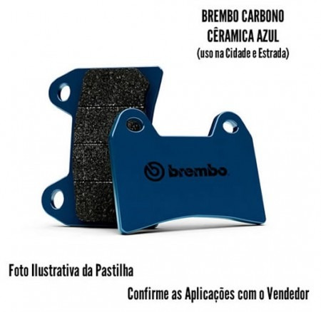 Pastilha De Freio Brembo 06 Dianteiro Kawasaki Vulcan 650s