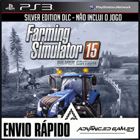 Dlc Official Expansion (silver) Farming Simulator 15 Ps3 Psn