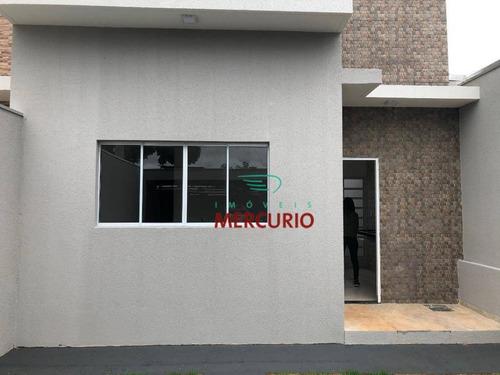 Casa À Venda, 75 M² Por R$ 295.000,00 - Parque Santa Edwiges - Bauru/sp - Ca3143
