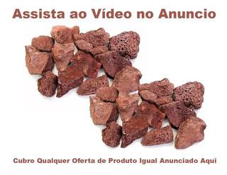Pedra Vulcânica P/ Churrasqueira Elletromec Pacote 2kg