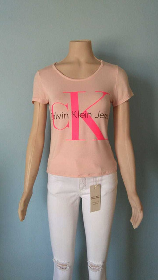 Remera Manga Corta Mujer Calvin Klein Jeans