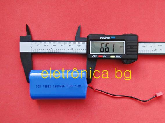 Bateria Caixa Amplificada Mondial Thunder 7.4v 1200mah