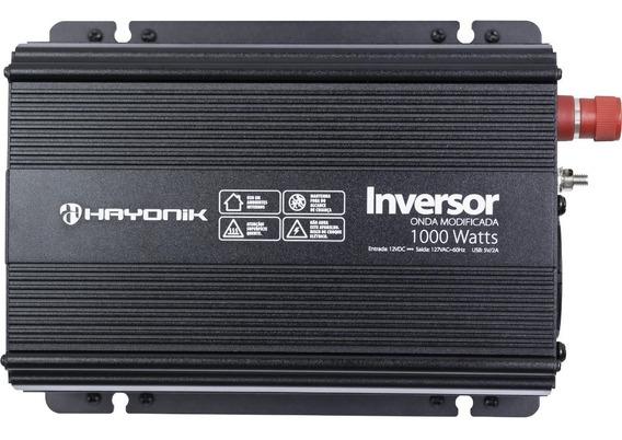 Inversor 12v/127v 1000w Onda Modificada Hayonik