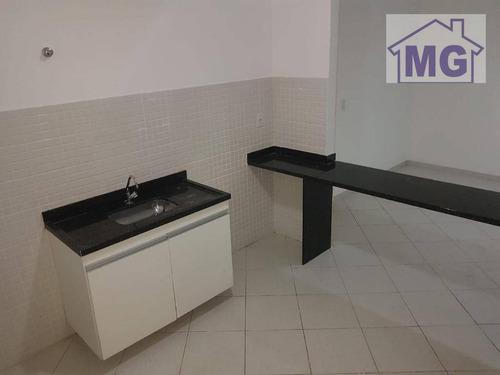 Imagem 1 de 14 de Apartamento Com 1 Dormitório Para Alugar Por R$ 1.000,00/mês - Centro - Macaé/rj - Ap0291