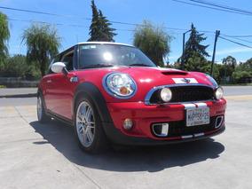 Mini Cooper 1.6 S Chili 6vel Aa Tela/piel Qc Mt 2012
