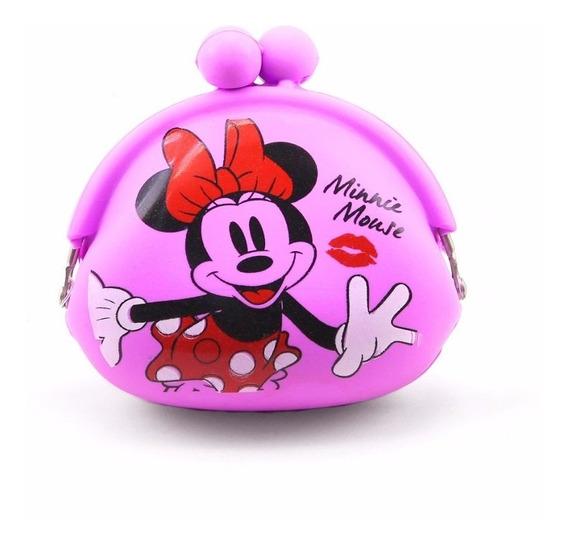 Porta Moeda Silicone Minnie - Disney