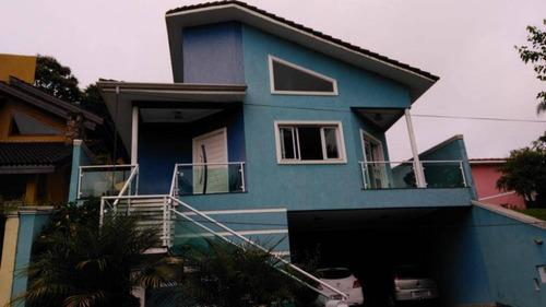 Sobrado Com 3 Dormitórios À Venda, 250 M² Por R$ 1.500.000 - Condomínio Country Club - Arujá/sp - So0309
