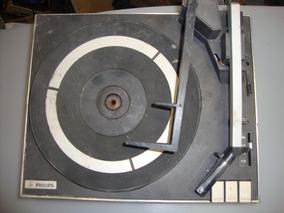 Sucata Danificada Toca Discos Philips Vintage Mod. 447 Leia