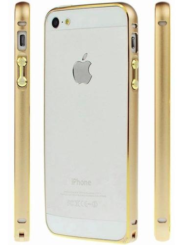 Funda Protector Marco De Aluminio Bumper iPhone SE 5s 5 ®