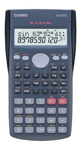 Calculadora Científica Casio Preto Fx-82ms-sc4