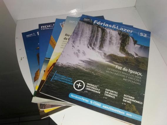Lote De 6 Revistas Ferias E Lazer Todas Muito Novas