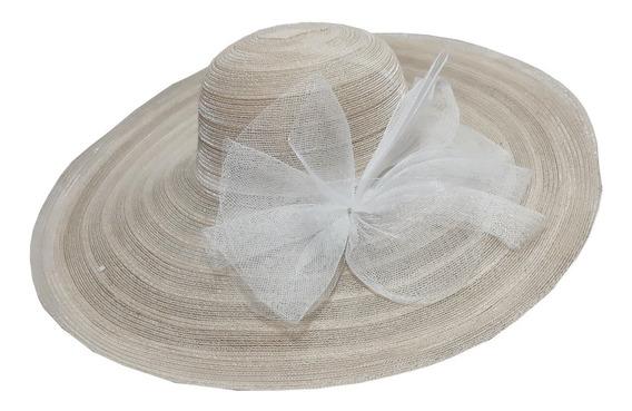 Chapéu De Praia Feminino Bege Verão 2020 Promoção